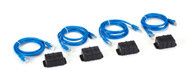 Black Box AlertWerks Temperature Sensor, Daisychainable, 4-Pack EMEDTEMP4