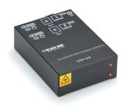 Black Box KVM Receiver, Dual DVI-D, 4X USB HID, 2 SM Fiber ACX1R-22-SM