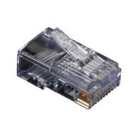 Black Box RJ45 Modular Plug For Round Stranded Cable FM105