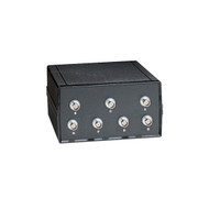 Black Box Desktop Coax BNC 6 to 1 Manual Switch SW580A-BNC