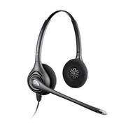 Black Box Plantronics SupraPlus Wideband HW261N Binaural Headset 64339-31