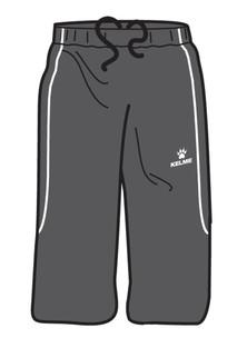 Saba 3/4 Short Black/White