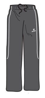 Saba Track Pant Black/White