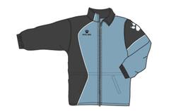 Garra Rain Jacket Black/Silver