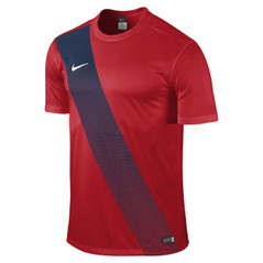 SASH JERSEY S/S UNIVERSITY RED/MIDNIGHT NAVY [FROM: $32.20]