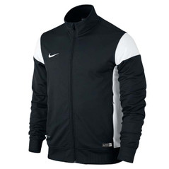 ACADEMY 14 SIDELINE KNIT JACKET BLACK/WHITE