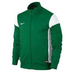 ACADEMY 14 SIDELINE KNIT JACKET PINE GREEN/WHITE