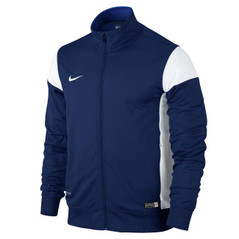 ACADEMY 14 SIDELINE KNIT JACKET COLLEGE NAVY/WHITE