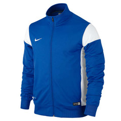 ACADEMY 14 SIDELINE KNIT JACKET ROYAL BLUE/WHITE