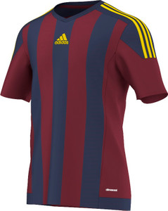STRIPED 15 JERSEY BURGUNDY/DARK BLUE/YELLOW [FROM: $28.00]