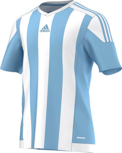 STRIPED 15 JERSEY CLEAR BLUE/WHITE