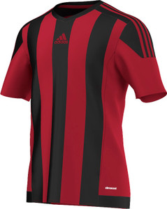 STRIPED 15 JERSEY BLACK/RED