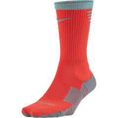 STADIUM CREW SOCK TOTAL CRIMSON
