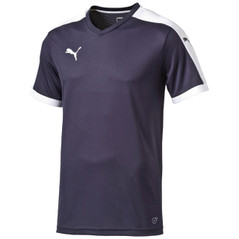 LIGA JERSEY S/S NAVY/WHITE [FROM: $21.00]