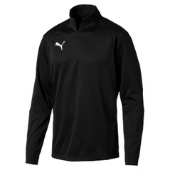 LIGA  1/4 ZIP JACKET BLACK [FROM: $42.00]