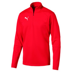 LIGA  1/4 ZIP JACKET RED [FROM: $42.00]