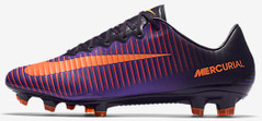 MERCURIAL VAPOR XI FG PURPLE/ORANGE