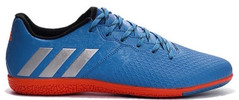 MESSI 16.3 IN J BLUE/SILVER/RED