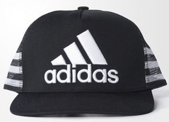 ADIDAS TRUCKER CAP BLACK/WHITE