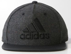 ADIDAS FLAT CAP GREY/BLACK