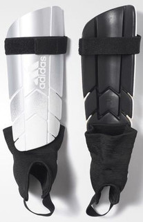 GHOST REFLEX SHIN GUARDS SILVER/WHITE