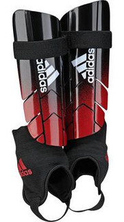 GHOST REFLEX SHIN GUARDS BLACK/RED