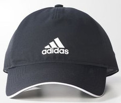 ADIDAS CLIMATE 5 PANEL CAP BLACK/WHITE