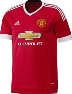 MANCHESTER HOME JERSEY 15/16