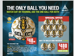 SAMBA 88 FW BALL PACK