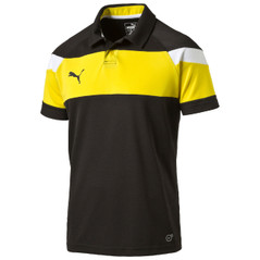 SPIRIT II POLO BLACK/YELLOW [FROM: $28.00]
