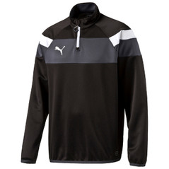 SPIRIT II 1/4 ZIP JACKET BLACK/WHITE [FROM: $42.00]