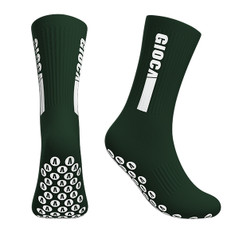 GIOCA GRIPS BOTTLE GIOCA Grips Performance Socks have pads that are designed to create optimum stability for every athlete. GIOCA Grips Performance socks allows every athlete in any sport to improve from the base up!  No slipping or sliding within your boots while improving all round player comfort and performance. GIOCA Grips have a Mid-Cushioned sole that delivers all round comfort. Ribbed construction with mesh ventilation panels.  No More Slipping in Your Boots - Improve All Round Athlete Mobility  Size Options | Medium 6 to 9 - Large 10+
