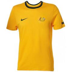 Australia T-Shirt Yellow W/Badge