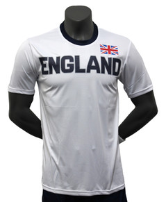 England Jersey White