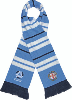 Melbourne City Rib-Knit Scarf