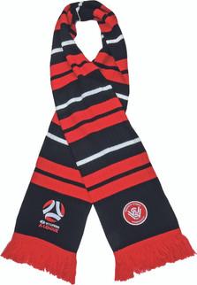 Western Sydney Wanderers Rib-Knit Scarf