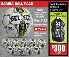 SAMBA (IMS) BALL PACK