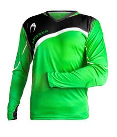Zamora Jersey L/S Green/Black