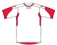 Cadiz Jersey White/Red