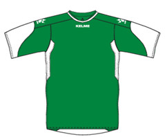 Cadiz Jersey Emerald/White