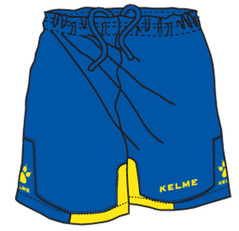 Cadiz Short Royal/Yellow