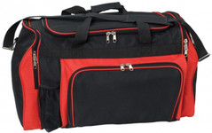 Super Classic Sports Bag Black/Red