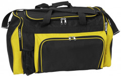 Super Classic Sports Bag Black/Yellow