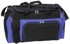 Super Classic Sports Bag Black/Royal