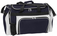 Super Classic Sports Bag Navy/White