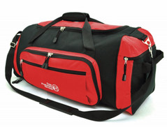 Super Sports Bag Red/Black