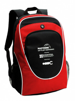 Super Back Pack Red/Black