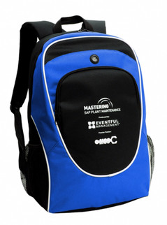 Super Back Pack Royal/Black