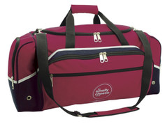 Advent Sports Bag Maroon/White/Navy