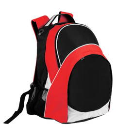 Harvey Back Pack Black/White/Red